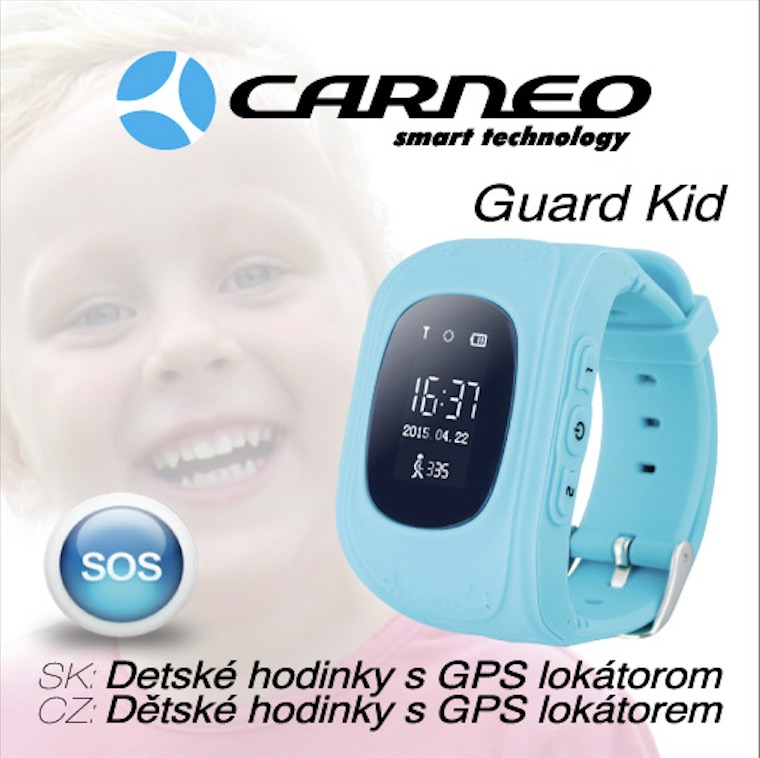 CARNEO Smart hodinky Guard Kid