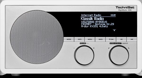 Technisat DigitRadio 400, biele