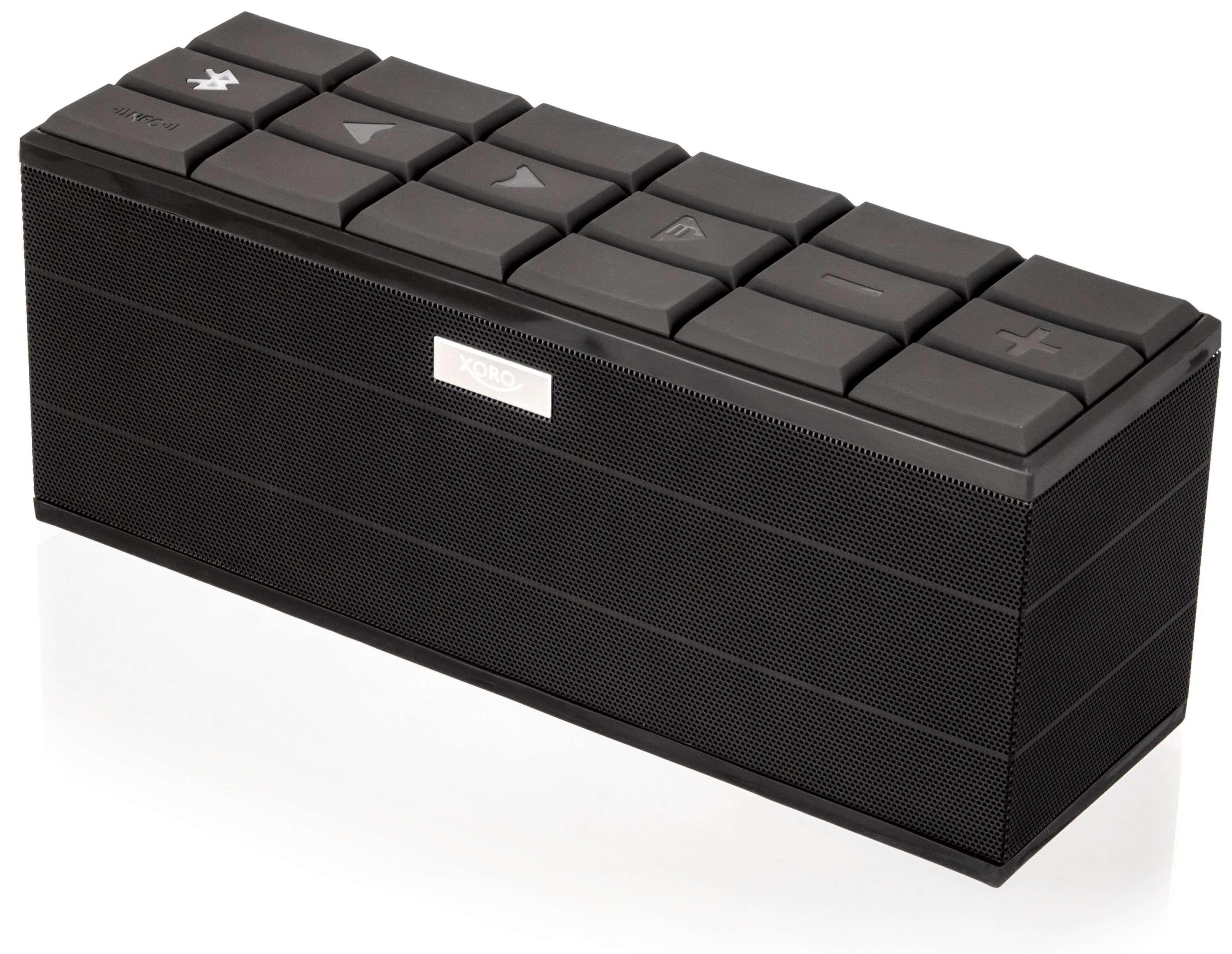 XORO HXS 900 NFC Bluetooth reproduktor hnedý