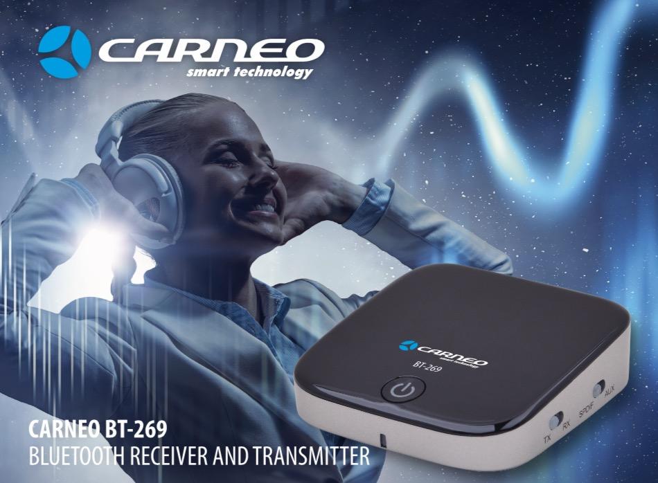 CARNEO BT-269 bluetooth audio receiver a transceiver