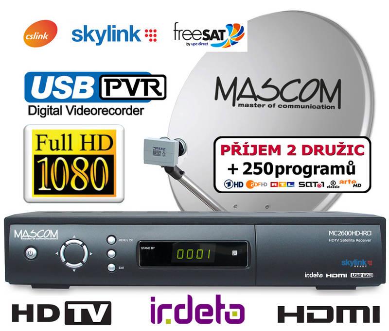 MASCOM Komplet s MC2600HDIRCI + OP80 + M7
