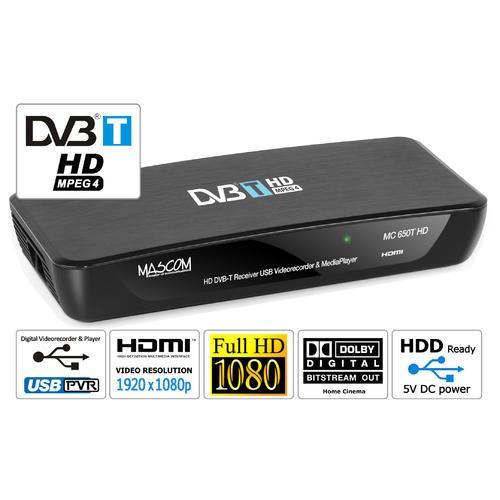 MASCOM MC650T HD DVB-T