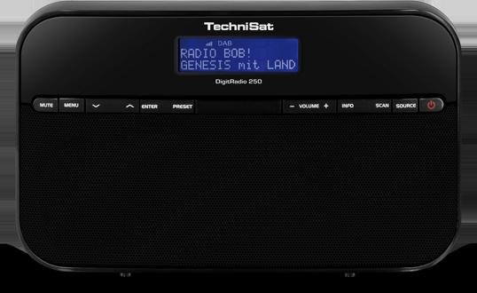 Technisat DigitRadio 250, čierne